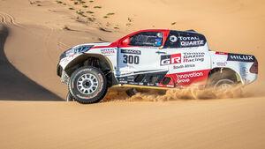 Fernando Alonso - Toyota Hilux - Rallye-Test