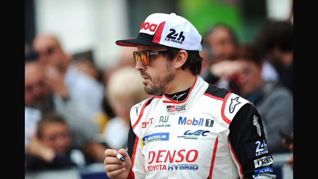 Fernando Alonso - Toyota - Le Mans 2019