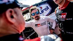 Fernando Alonso - Toyota - Rallye Marokko