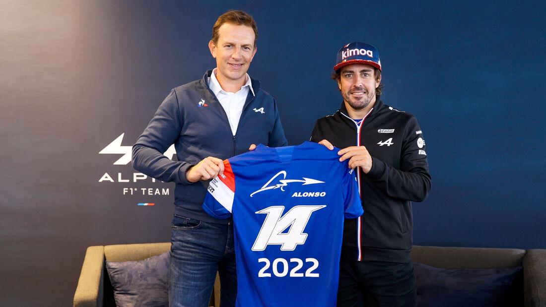 Fernando Alonso - Vertrag 2022