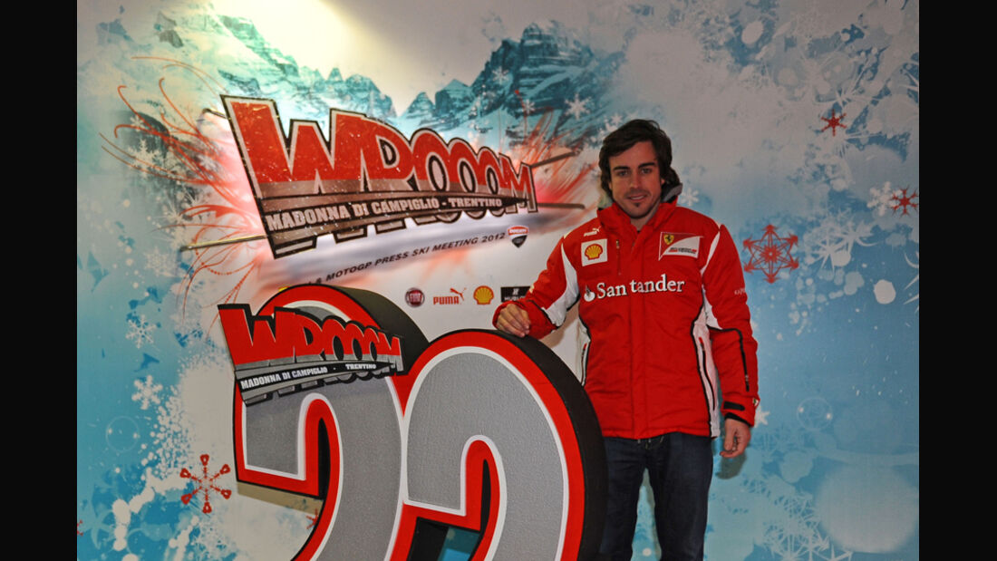 Fernando Alonso Wroom 2012 Ferrari