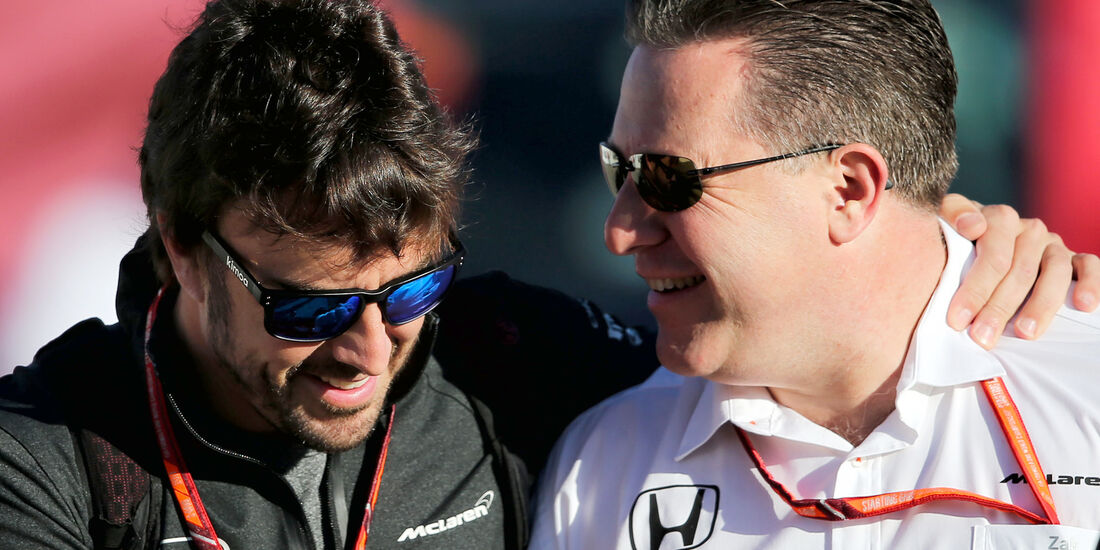 Fernando Alonso & Zak Brown - Formel 1 - 2017
