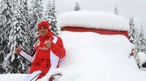 Fernando Alonso Zoom Charity Foto 2012