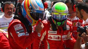 Fernando Alonso und Felipe Massa