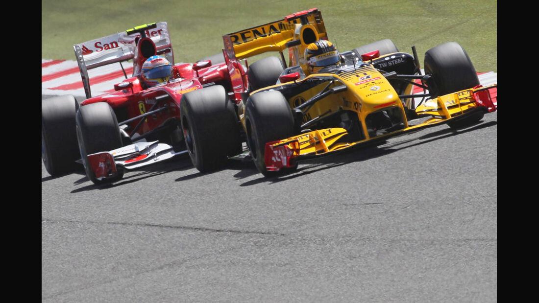 Fernando Alonso und Robert Kubica