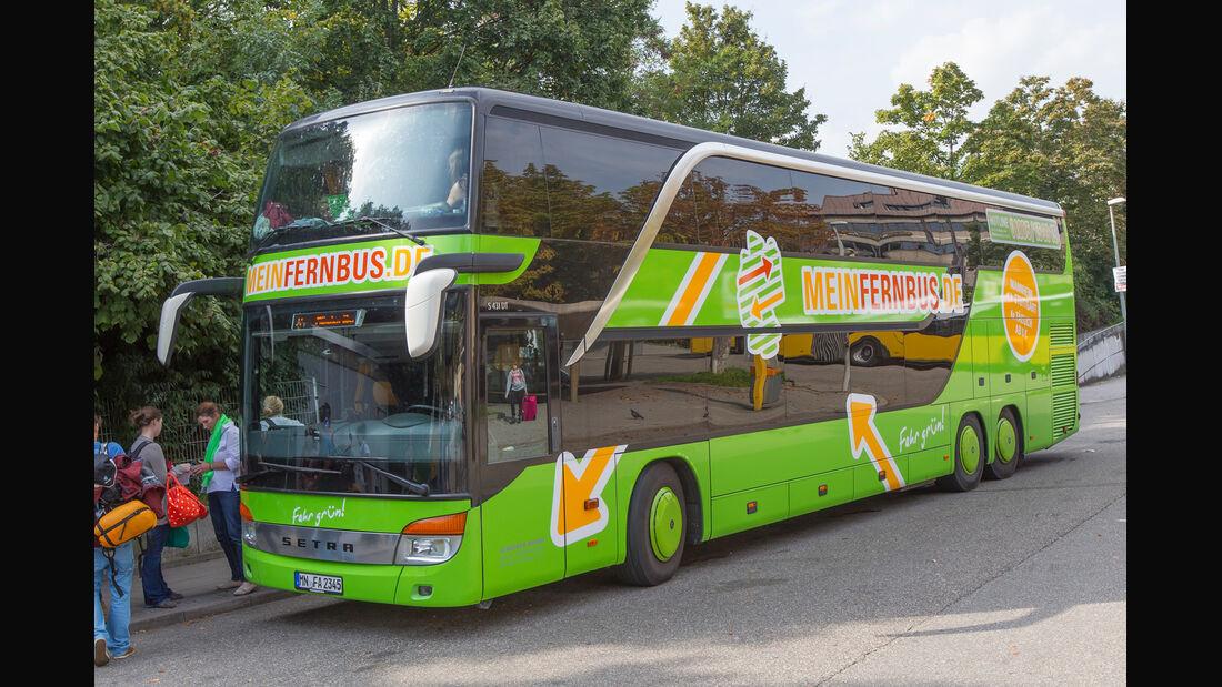 Fernbus, Seitenansicht