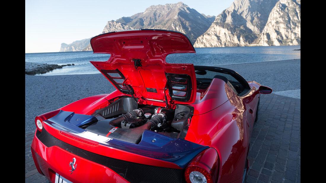 Ferrai 458 Speciale A, Motor