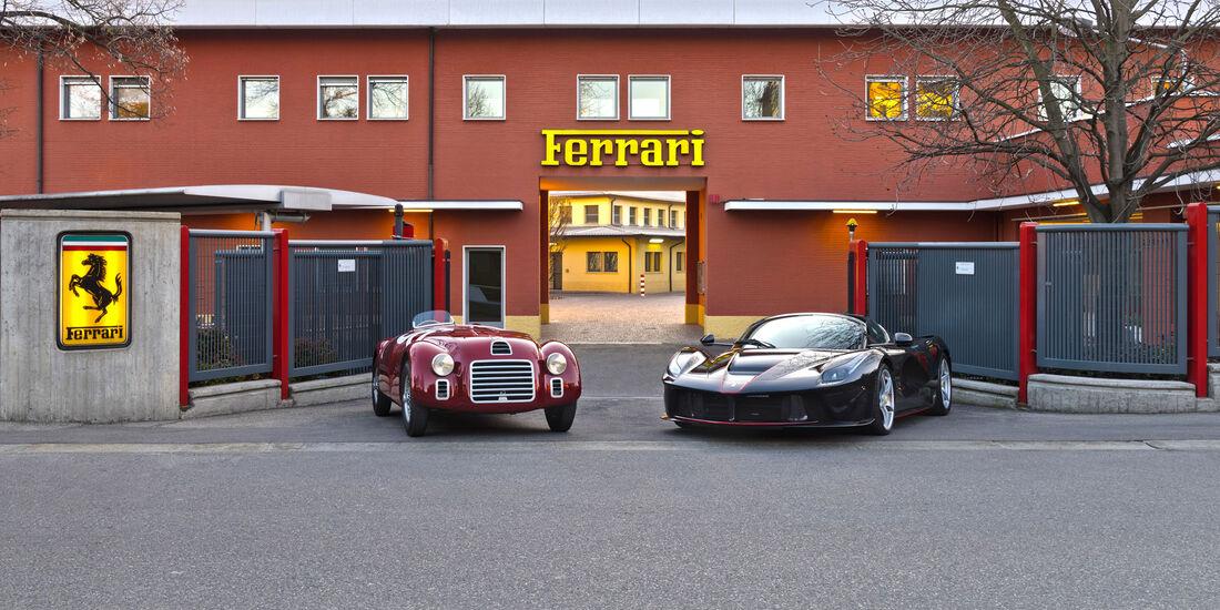 Ferrari 125S - LaFerrari Aperta