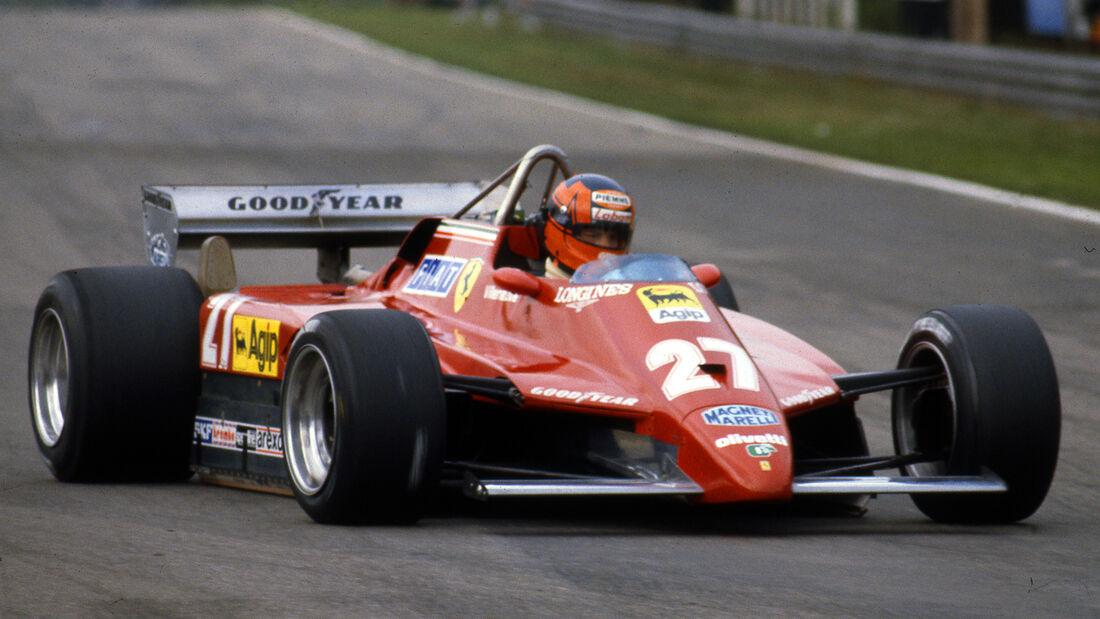 Ferrari 126 - Gille Villeneuve