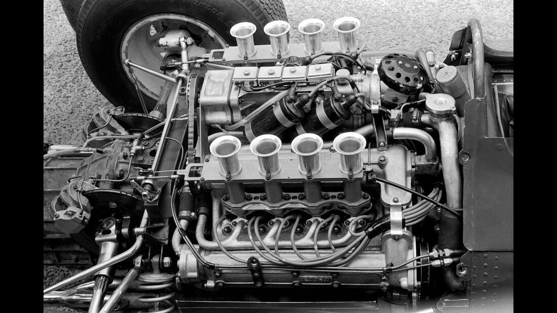 Ferrari 158 - Motor - Zandvoort 1964