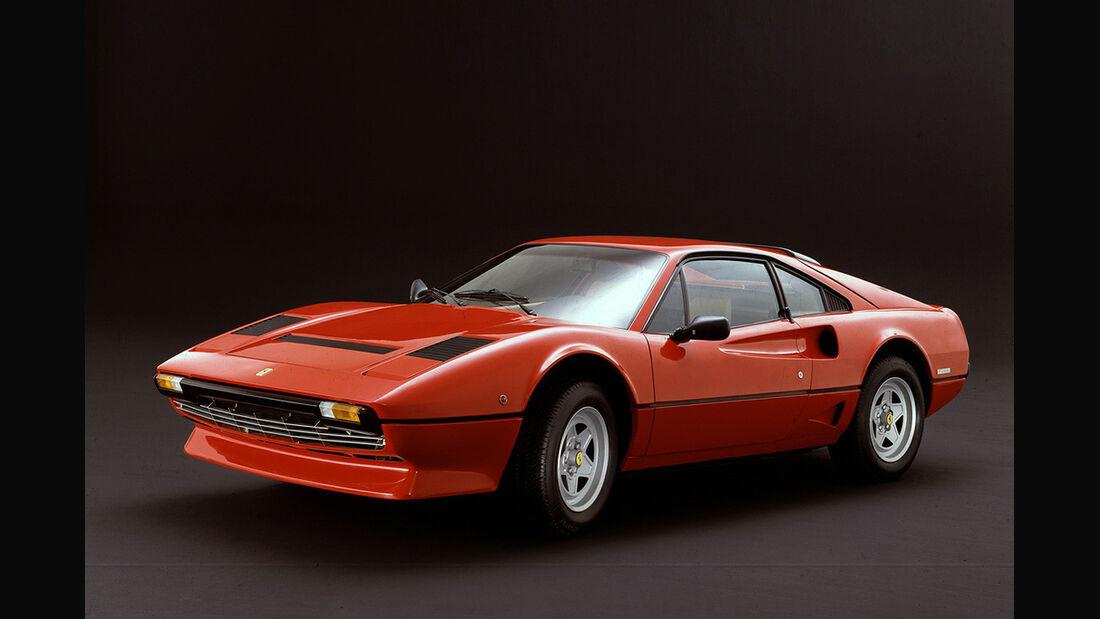 Ferrari 208 Turbo, Seitenansicht