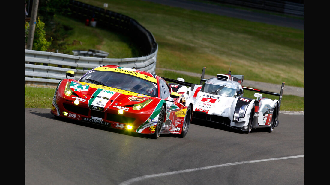 Ferrari - 24h Le Mans - 11. Juni 2014