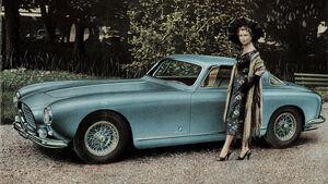 Ferrari 250 Europa Prospekt von 1954