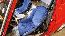 Ferrari 250 GTO, Fahrersitz