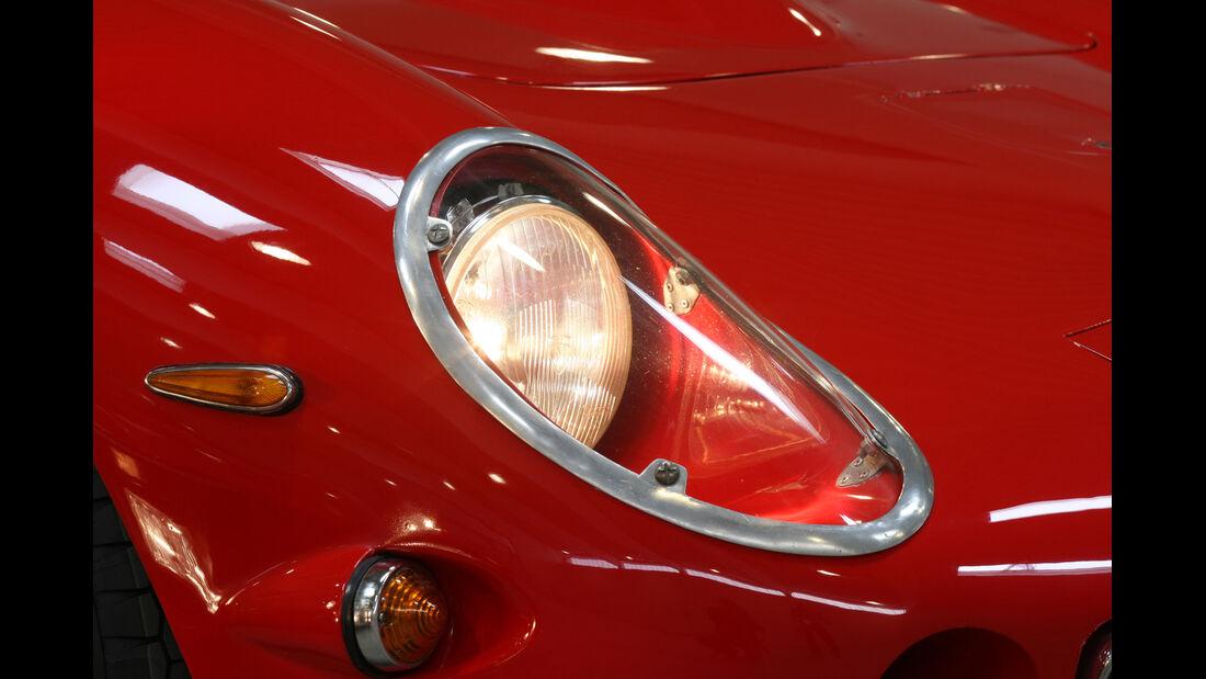 Ferrari 250 GTO, Frontscheinwerfer