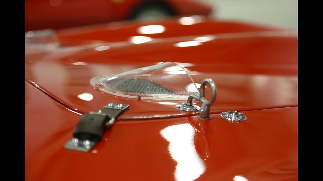 Ferrari 250 GTO, Motorhaube, Detail