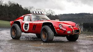Ferrari 250 GTO Offroader Rain Prisk Retusche