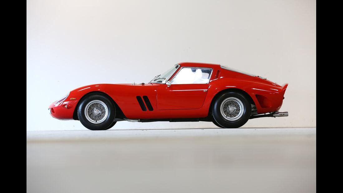 Ferrari 250 GTO, Seitenansicht