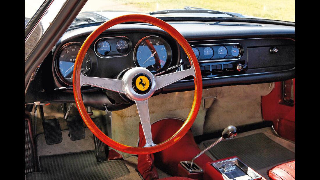 Ferrari 275 GTB/4, Cockpit