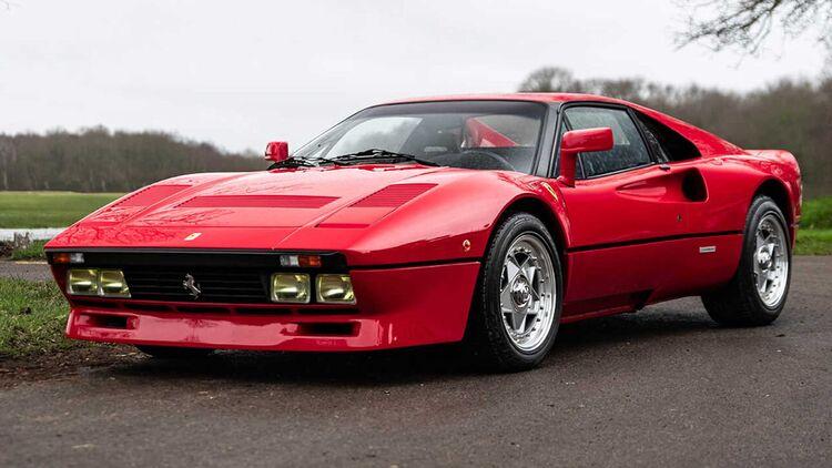 Ferrari 288 Gto 1985 Millionen Ferrari Mit F40 Technik Auto Motor Und Sport