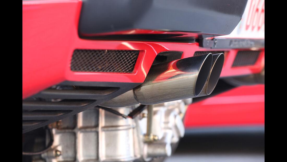 Ferrari 288 GTO, Endrohre