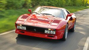 Ferrari 288 GTO, Frontansicht