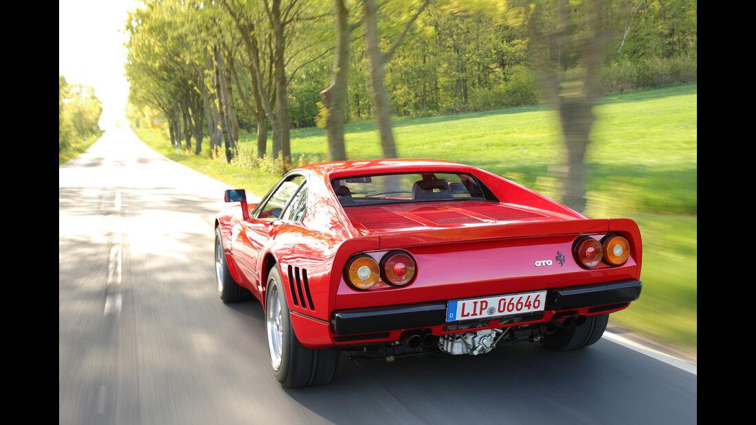 Ferrari 288 GTO, Heckansicht