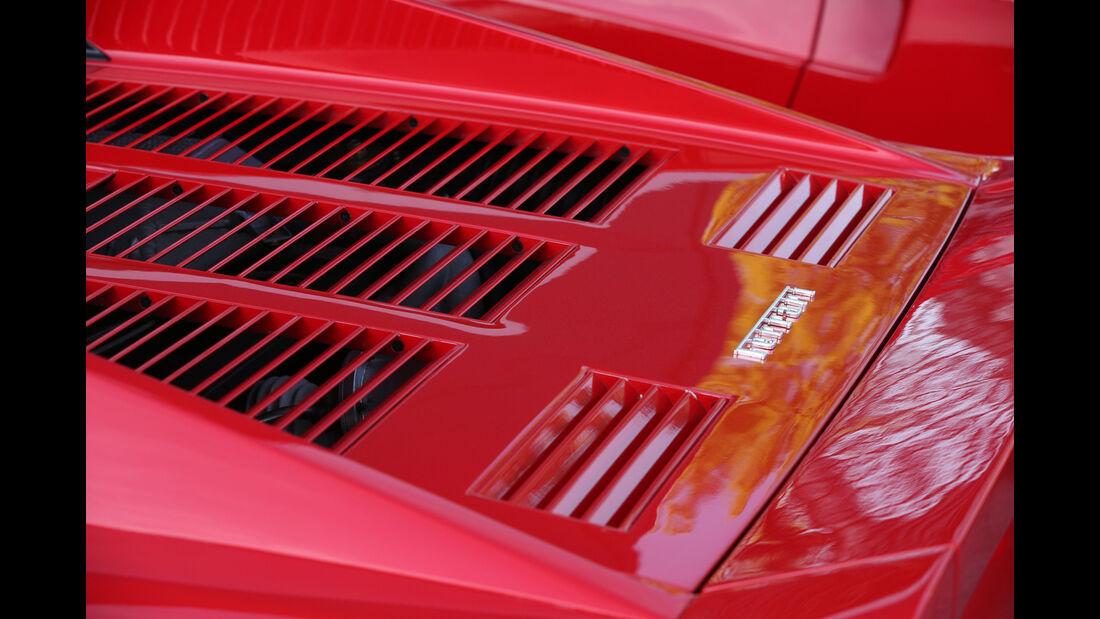 Ferrari 288 GTO, Motorabdeckung
