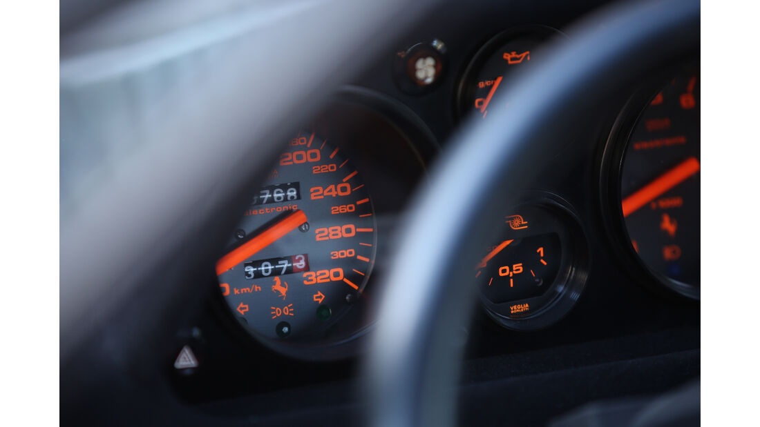 Ferrari 288 GTO, Rundinstrumente