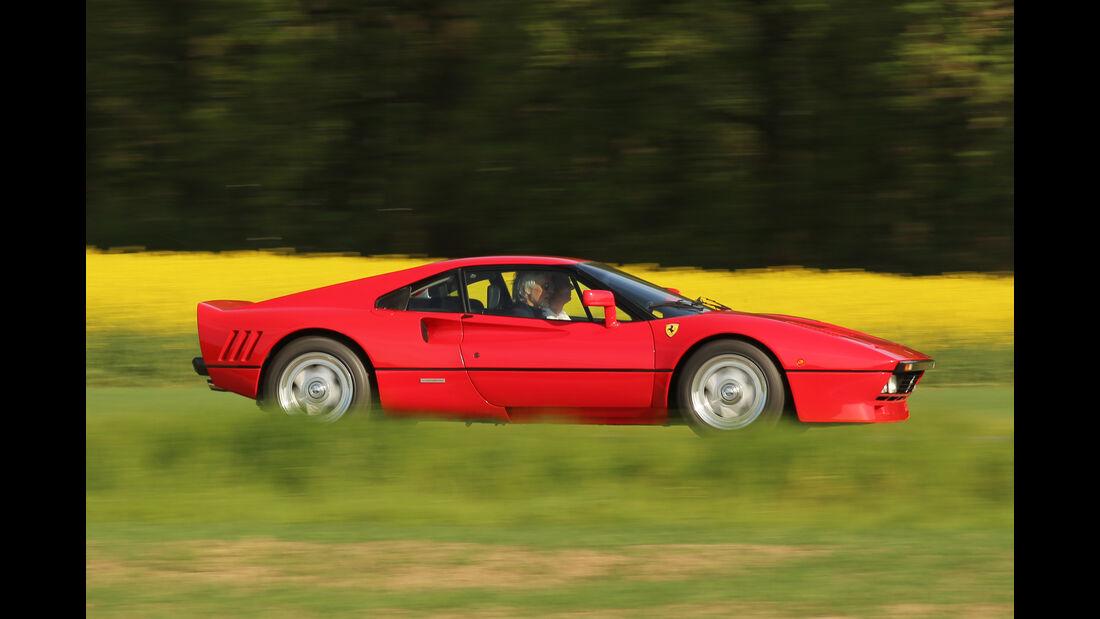 Ferrari 288 GTO, Seitenansicht