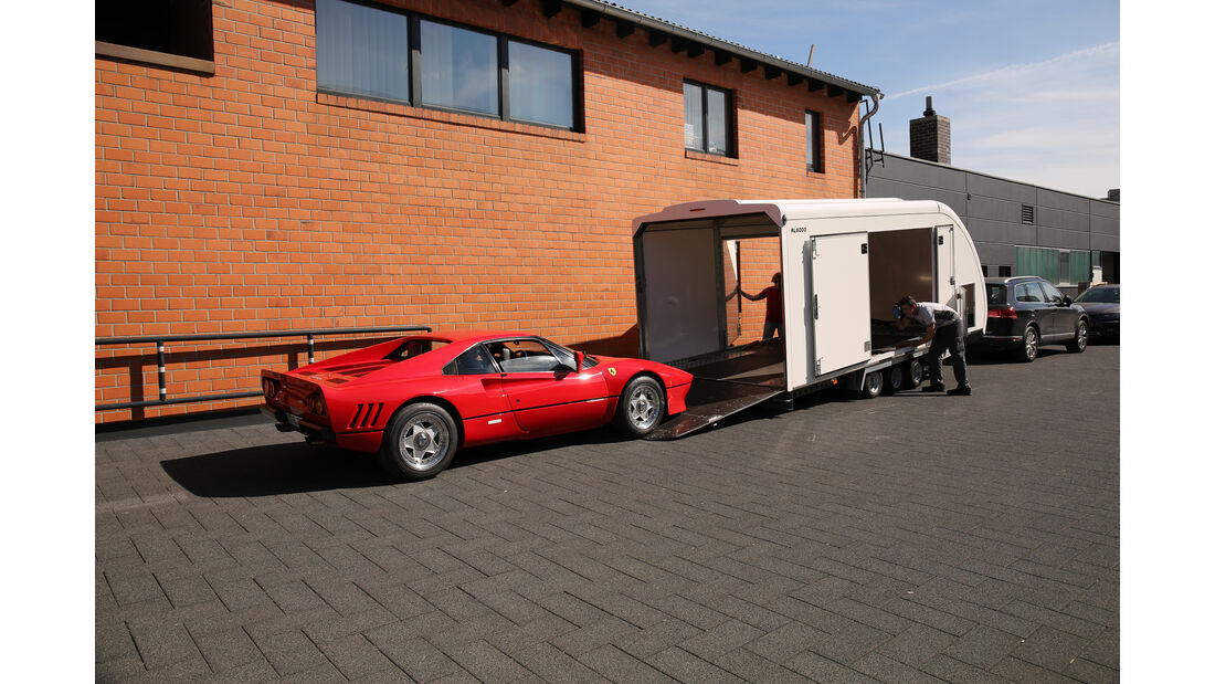 Ferrari 288 GTO, Verladen