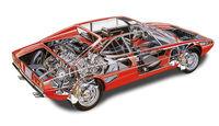 Ferrari 308 GT4, Durchsicht