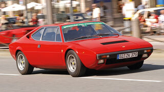 Ferrari 308 GT4, Frontansicht