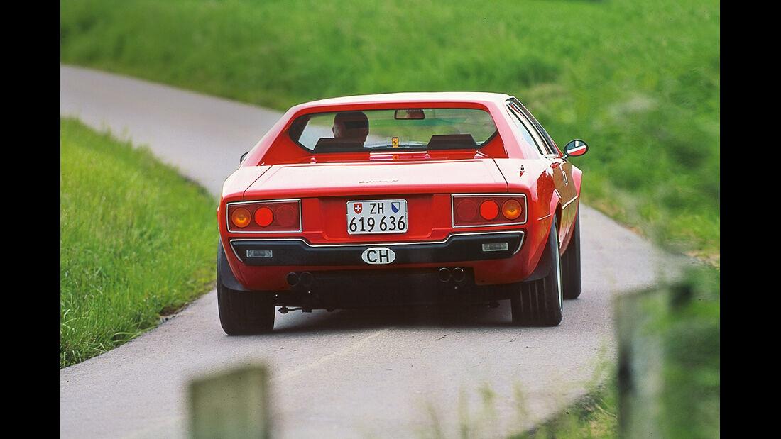 Ferrari 308 GT4, Heckansicht