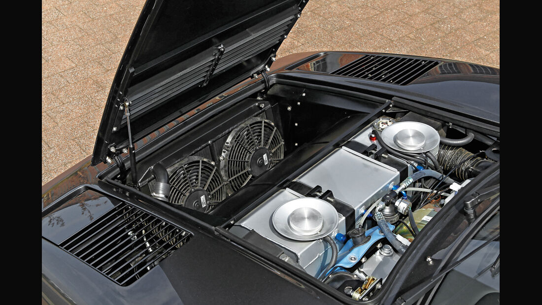 Ferrari 308 GTB, Motor, Lüfter