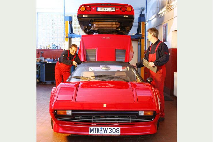 Ferrari 308 GTB und GTS