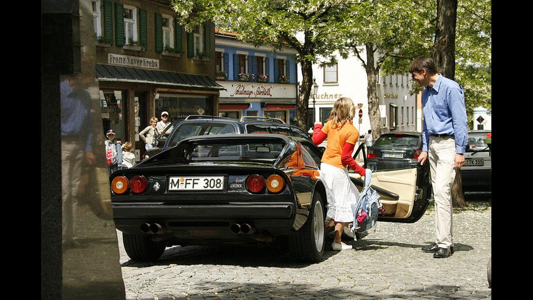 Ferrari 308 GTS, Heckansicht