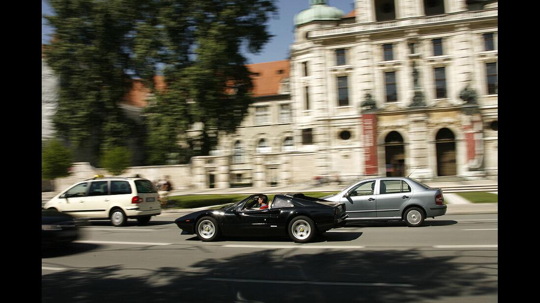 Ferrari 308 GTS, Seitenansicht