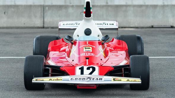 Ferrari 312T (1975) - Niki Lauda - Formel 1 - Auktion - Pebble Beach
