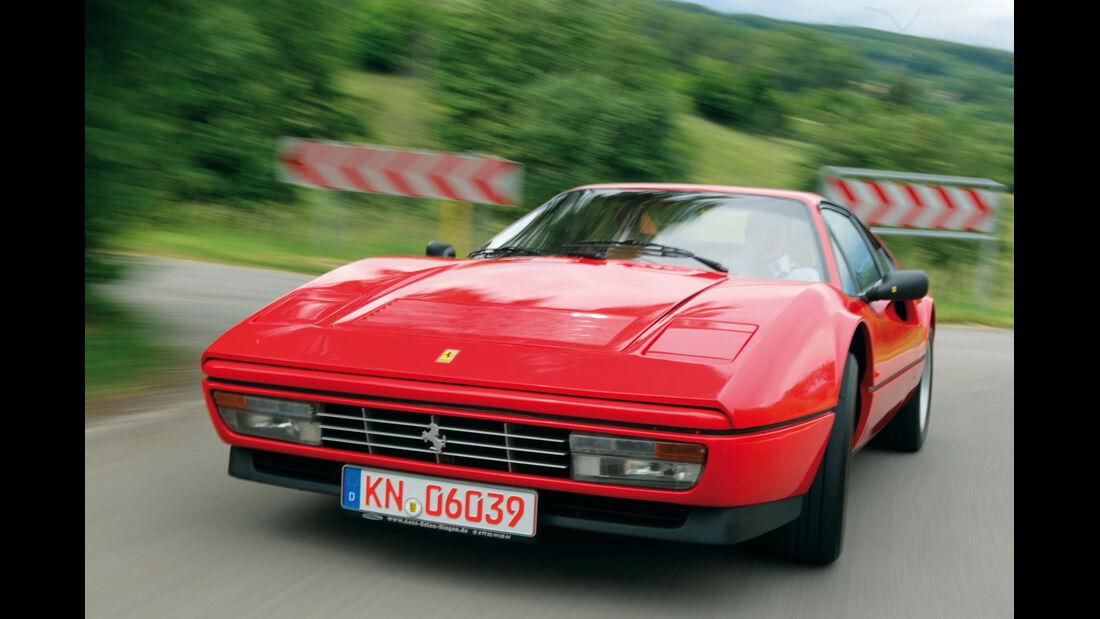 Ferrari 328, Frontansicht