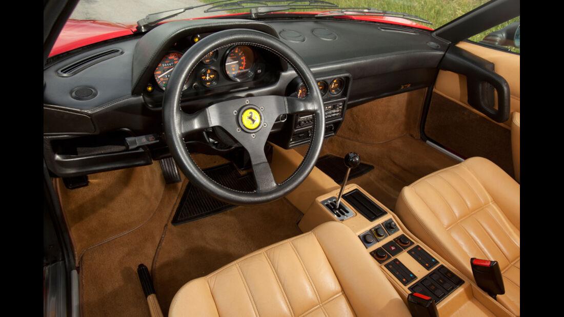 Ferrari 328 GTB, Innenraum