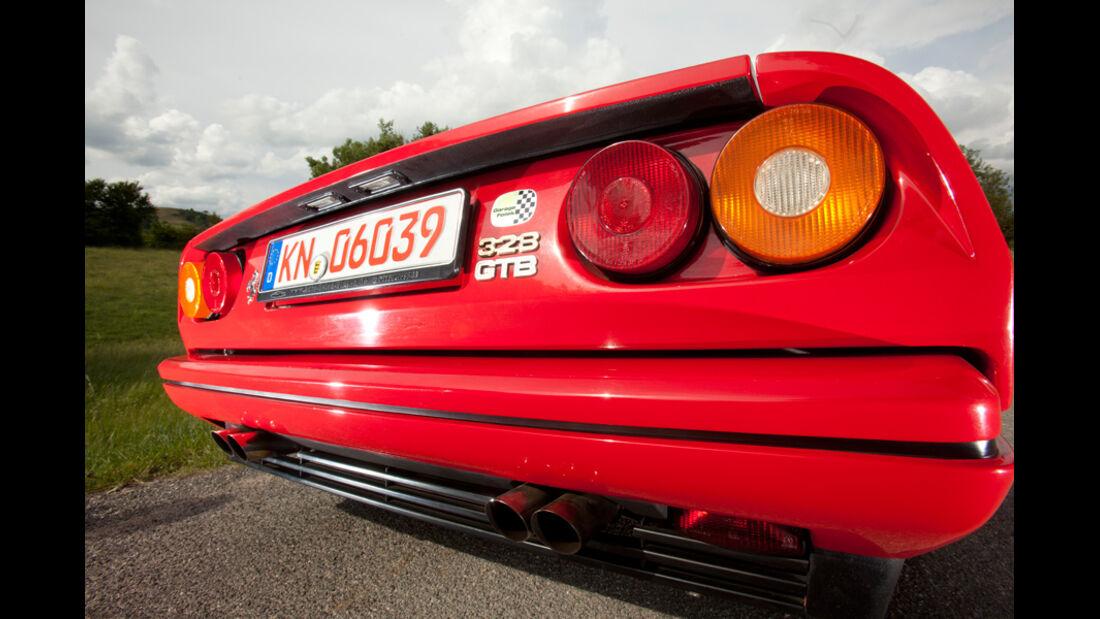 Ferrari 328 GTB, Rücklichter