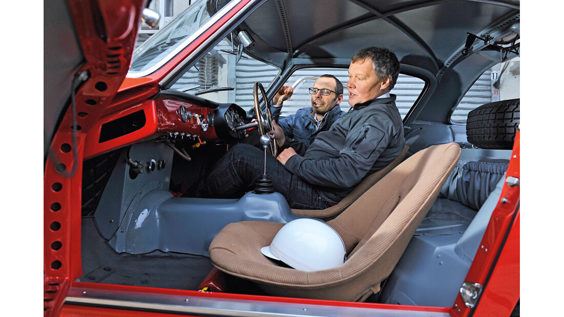 Ferrari 340/376 MM, Cockpit, , Dirk Johae, Max Girardo
