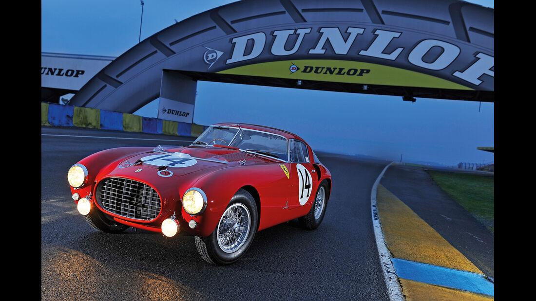 Ferrari 340/376 MM, Frontansicht, Scheinwerfer