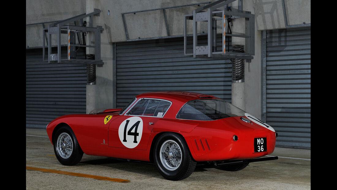 Ferrari 340/376 MM, Heckansicht