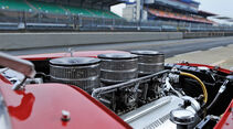 Ferrari 340/376 MM, Motor, Vergaser