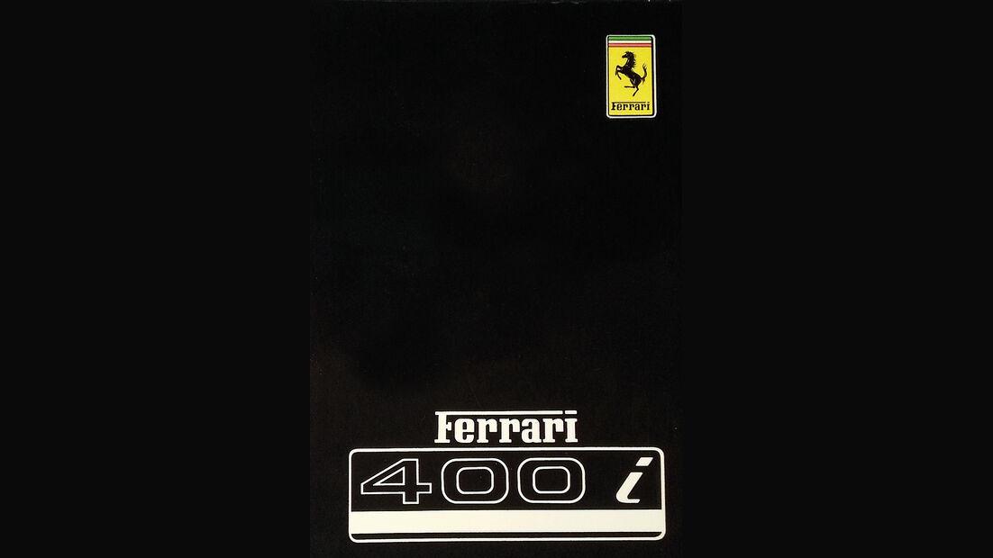 Ferrari 365 GT4 2+2, Register, Buch