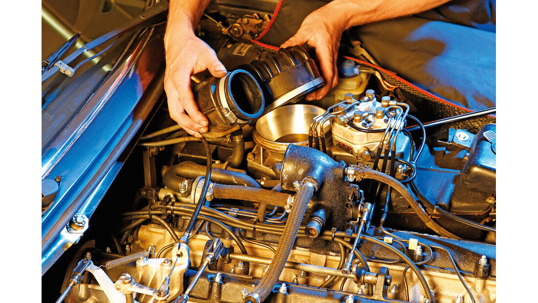Ferrari 365 GT4 2+2, Ventilspiel