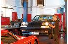 Ferrari 365 GT4 2+2, Werkstatt, Frontansicht