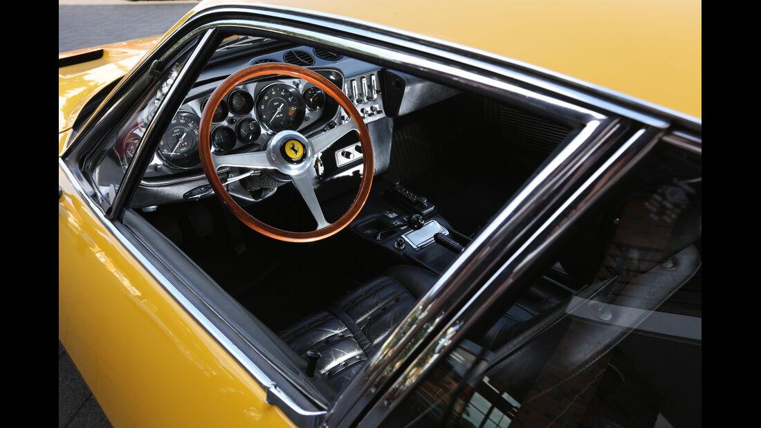Ferrari 365 GTB/4, Cockpit, Lenkrad
